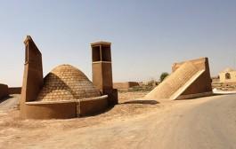 مرمت آبانبار خانمجان در استان یزد
