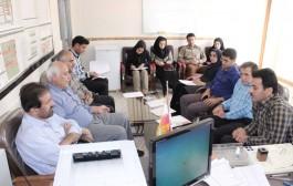 برگزاری جلسه کنترل کیفی آب روستایی در باغملک