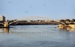 رودخانه کارون در بحران