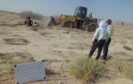 انسداد ۱۵ حلقه چاه غیرمجاز در دشت کلات مشهد