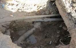 حفاری غیر اصولی تعویض شبکه آبرسانی فرسوده توسط پیمانکاران آبفا