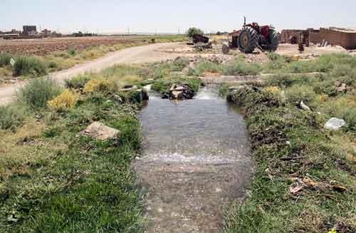 به بهرهبرداری رسیدن طرح آبی شدن ۱۰۰۰ هکتار اراضی کشاورزی لرستان