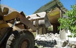 ساختو سازهای غیرمجاز در بالادست سد