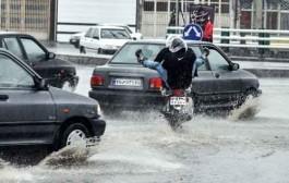 بارش شدید و احتمال آبگرفتگی در تعدادی از استانهای کشور