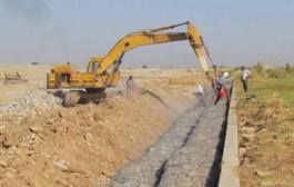 عملیات بازسازی سازه غربی شبکه آبیاری دز آغاز شد