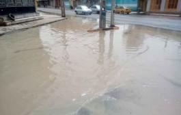لایروبی فاضلاب کوی نیرو شهرستان شوشتر