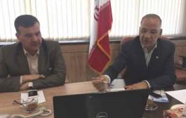 بازدید وزیر آب عراق از تأسیسات آبرسانی به مشهد بازدید کرد