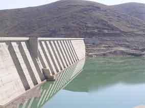 ورود ۷۰۰ هزار مترمکعب آب به سد اکباتان