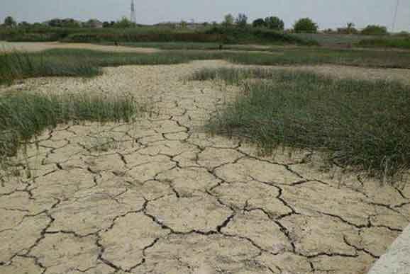 طنین سونامی کم آبی در مناطق پر آب