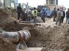شرکت آب تهران: حفاری مترو بارها لوله های آب مردم را قطع کرده و باعث نارضایتی شهروندان شده