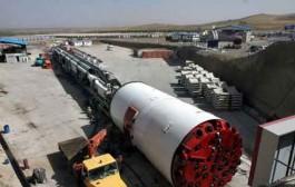 آغاز حفاری تونل انتقال آب از سد