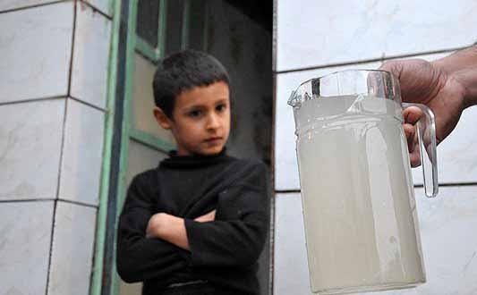 نقش شرکت آب و فاضلاب در کاهش مرگ و میر کودکان