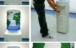 جالبترین تبلیغ کمبود آبهای زیرزمینی +عکس