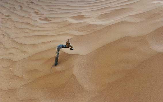 بحران کمبود آب در عربستان سعودی