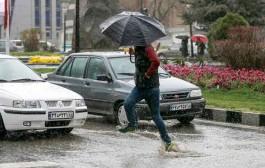 افزایش ۴۵ درصدی بارش باران در اسدآباد