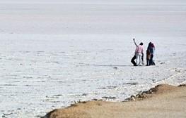 ۴۰ درصد دریاچه مهارلو آب گیری شده است/ دلایل قرمزی دریاچهای که هرگز نمیمیرد
