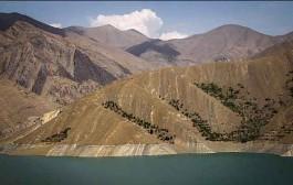 وضعیت ذخایر آب سدهای پنجگانه تهران/ آب سد کرج ۲ برابر شد