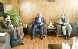 افتتاح تصفیهخانه فاضلاب شهریار محور گفتگوی مدیر عامل آبفا و فرماندار شهریار