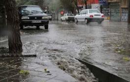 خسارت باران به چند واحد مسکونی در سمنان، مهدیشهر و سرخه