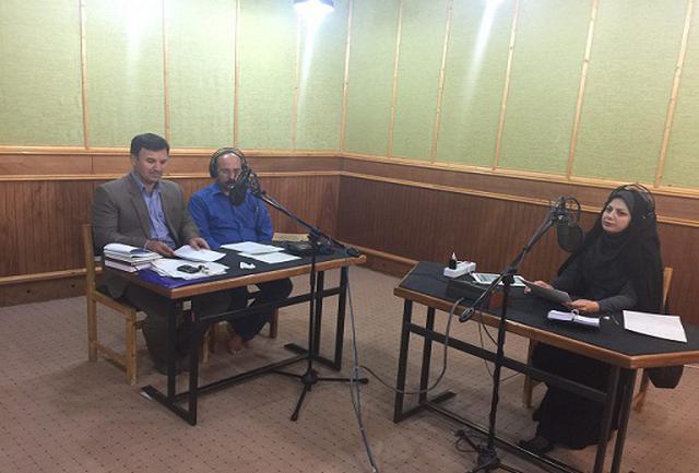 حضور مدیرعامل شرکت آبفا استان ایلام در برنامه زنده رادیویی