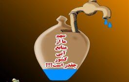 شهروندان دارابی ۳ برابر استاندارد جهانی آب مصرف می کنند