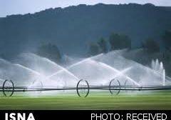 آبیاری تحتفشار ۲۵۰ هکتار از باغات فردیس