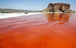 رنگ قرمز دریاچه ارومیه چه اندازه نگران کننده است