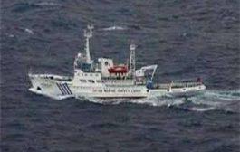 ورودمجدد کشتی های چینی به آبهای ژاپن در دریای چین شرقی