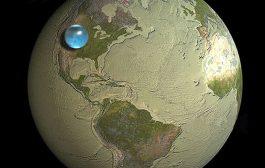 حجم کل آبهای زمین چقدر است؟