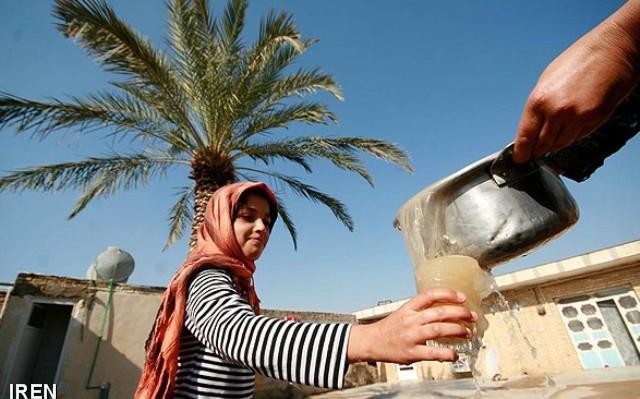 وضعیت آب شرب شرق اهواز قابل توجیه و انسانی نیست