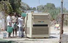 بازدید این دستگاه از هوا آب آشامیدنی تولید میکند