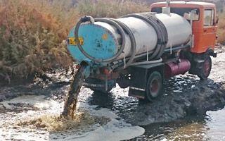 تخلیه روزانه چهار هزار متر مکعب فاضلاب در کشف رود