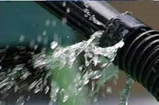 ترمیم خط انتقال ۵۰۰ میلی متری آب شرب شهر زنجان