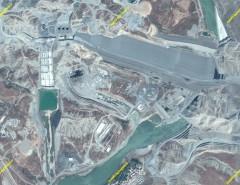 بازدید هوایی وزیر نیرو از شبکههای مغان، خدا آفرین و رودخانه ارس