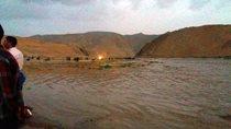 کنترل و پخش سیلاب ۳۰۰ مترمکعبی در رودخانه کشفرود