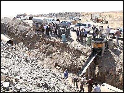 بهره برداری از ۱۵۰۰ میلیارد ریال طرحهای توسعه آب استان فارس