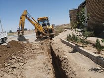 استانداردسازی شبکه آب شرب ۸ روستای گناباد از منابع صندوق توسعه ملی