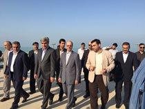 سرپرست وزارت نیرو وارد بوشهر شد/ بازدید از آب شیرینکن ۱۰ هزار مترمکعبی بوشهر