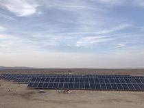 سومین نیروگاه برق خورشیدی ۱۰۰ کیلوواتی در خور و بیابانک اصفهان