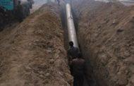 پیشرفت ۹۱ درصدی طرح مجتمع آبرسانی به ۳ شهر استان گلستان