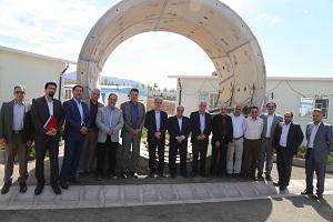 بازدید معاون وزیر نیرو و هیئت همراه از پروژههای انتقال آب کرمان