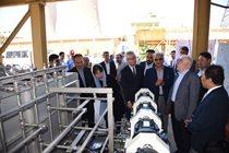 سیستم خنککننده جدید واحدهای گازی نیروگاه شهید رجایی افتتاح شد