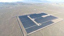 نیروگاه خورشیدی ۱۰ مگاواتی شهر بافت کرمان به شبکه سراسری برق متصل شد