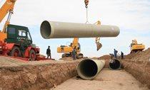 اجرای طرح بهسازی شبکه آبیاری و زهکشی دشت شمالی میناب در هرمزگان