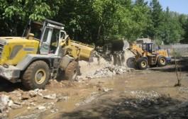 آزادسازی ۴ هکتار از بستر و حریم رودخانه جاجرود در منطقه زردبند
