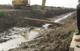 بازسازی دو کانال اصلی شبکه آبیاری