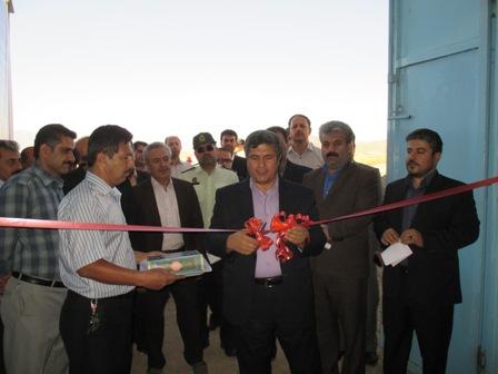 بهره برداری از چند طرح عمرانی و صنعت آب و برق در شهرستان سقز