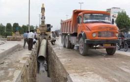 اصلاح و توسعه بیش از ۱۱ کیلومتر از شبکه آبرسانی خدابنده با مشارکت مردمی