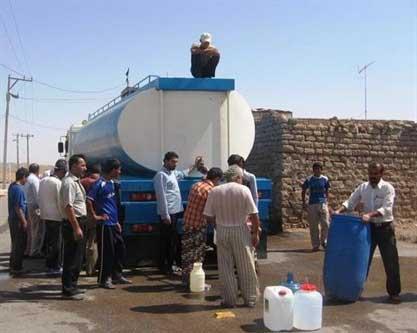 شستشوی مخازن ذخیره آب شرب راور