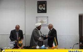 تقدیر ستاد اقامه نماز یزد از مدیران عامل صنعت آب و برق یزد
